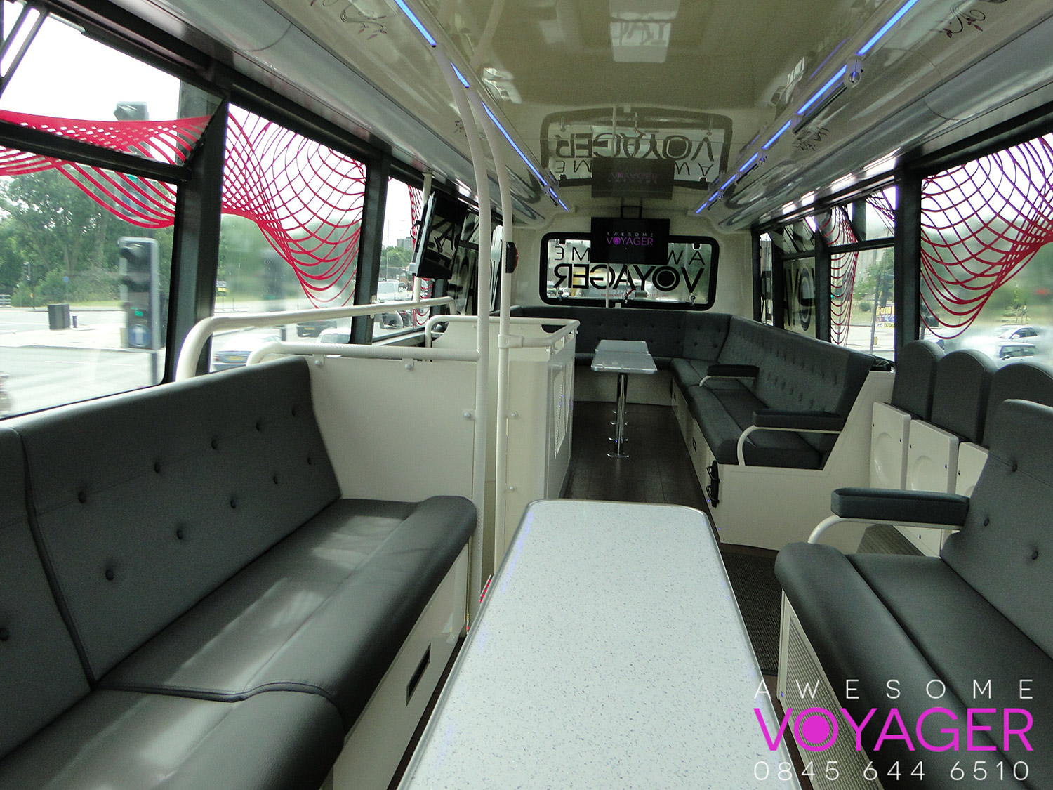 Awesome Voyager Party Bus